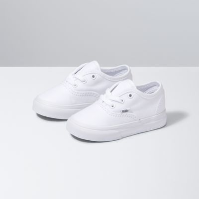 Vans Shoes Toddlers Authentic (True White)