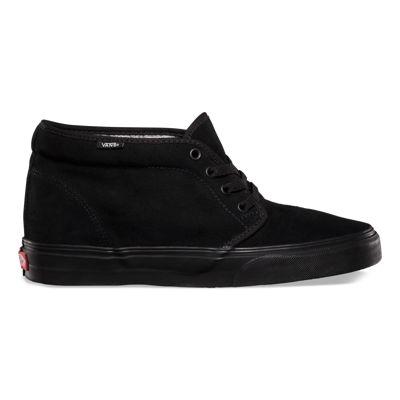 Vans Shoes Chukka Boot Suede (Black/Black)