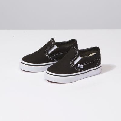 Vans Shoes Toddlers Slip-On (Black)