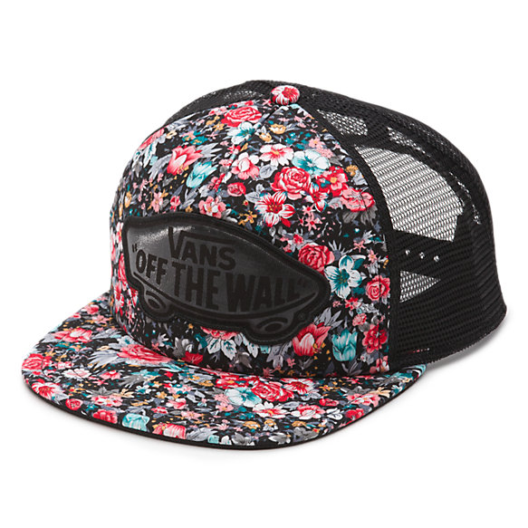Beach Girl Floral Trucker Hat