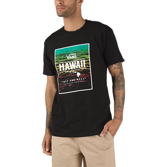 Hi Mauka Box Fill T Shirt by Vans