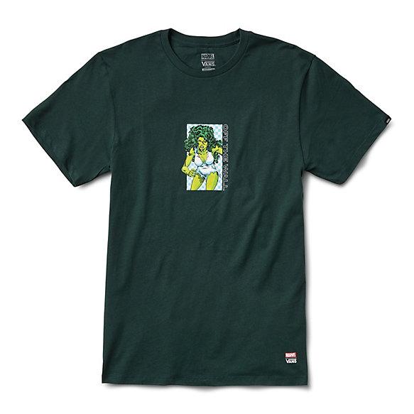 Vans X Marvel She Hulk T Shirt by Vans
