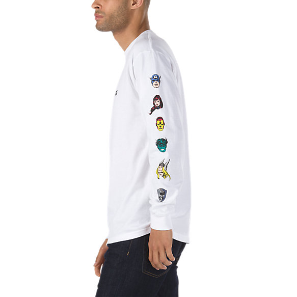 Vans X Marvel Characters Long Sleeve T Shirt by Vans