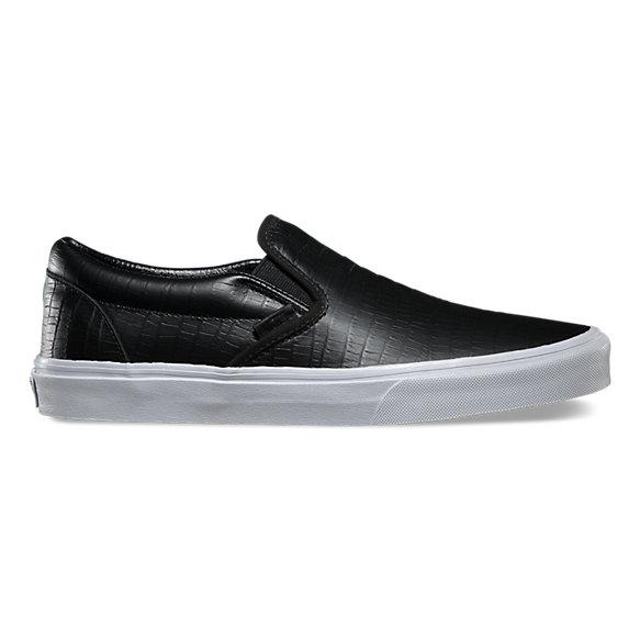 croc leather classic slip on ca shop at vans. Black Bedroom Furniture Sets. Home Design Ideas