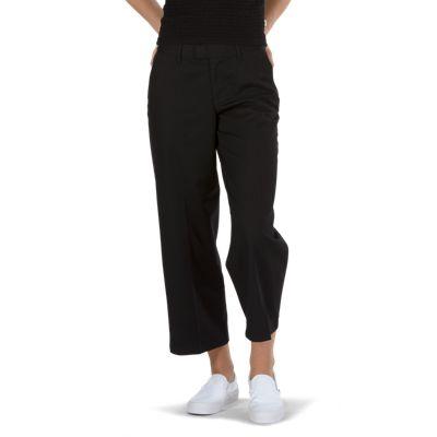 380ca78831 Vans Authentic Wide Leg Hose (schwarz) Damen Schwarz