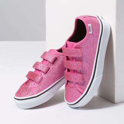 Vans Kinder Glitter Style 23 V Schuhe (5 Jahre) ((glitter