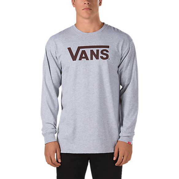 vans classic long sleeve t shirt shop mens t shirts at vans. Black Bedroom Furniture Sets. Home Design Ideas