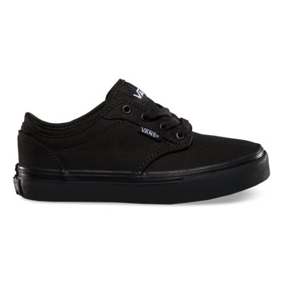 Vans Shoes Kids Atwood (Canvas Black/Black)