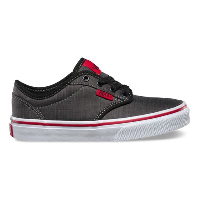 Vans Shoes Kids Atwood (Textile black/chili/black)