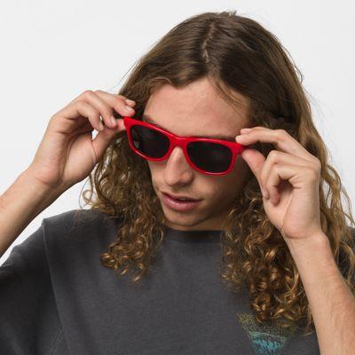 d2514340127702 Vans Spicoli 4 Shades Sunglasses (racing Red) Men Red