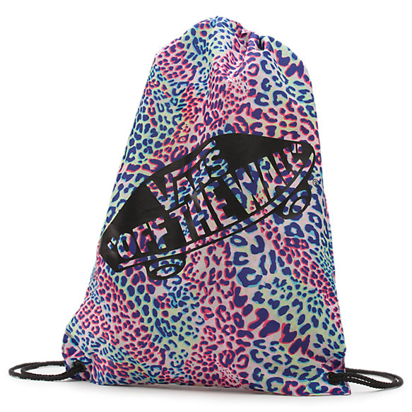 Leopard Benched Cinch Bag