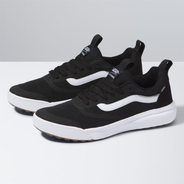 vans ultrarange black pewter