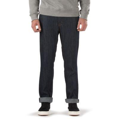 Vans V56 Indigo Midnight Raw Standard Jean (Indigo Midnight Raw) Mens Pants