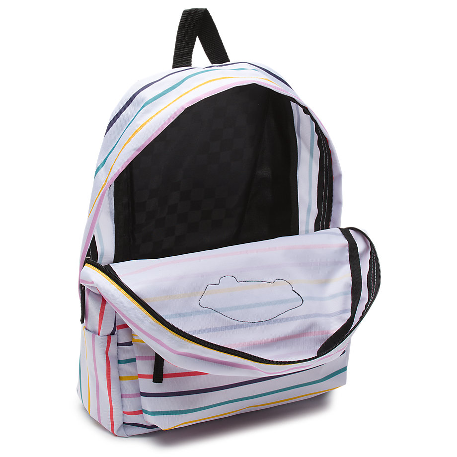 30742cb67b Vans Realm Backpack (party Stripe)