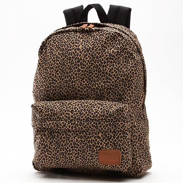 Leopard Deana Backpack Shop Womens Backpacks At Vans