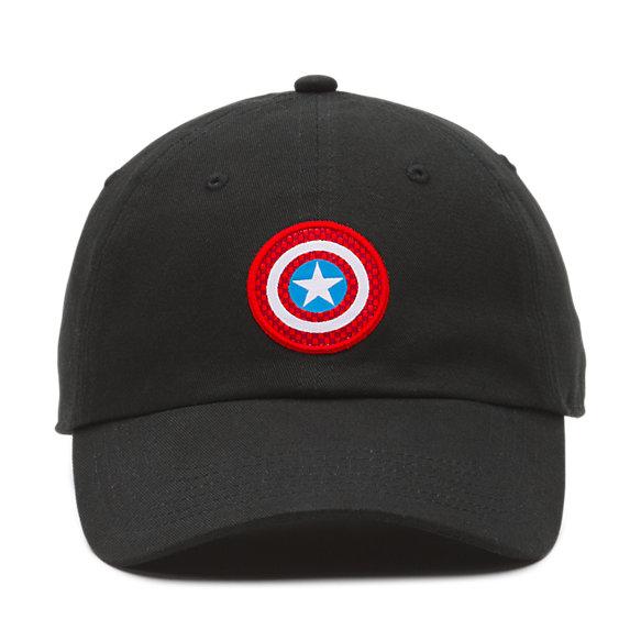 Vans X Marvel Captain Shield Courtside Hat by Vans