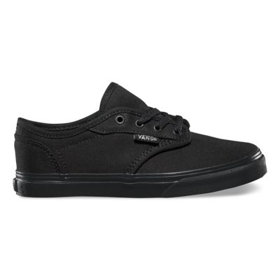 Vans Shoes Kids Atwood Low (Canvas black/black)