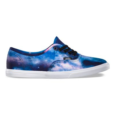 Vans Cosmic Galaxy Authentic Lo Pro (galaxy black/true white)