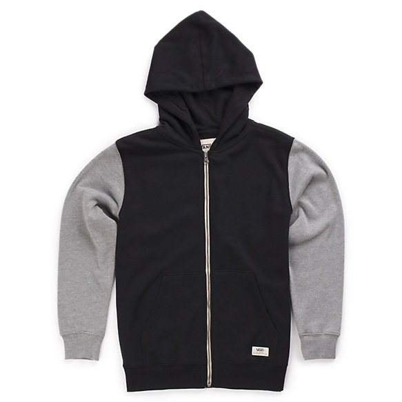 Boys Core Basics Colorblock Zip Hoodie