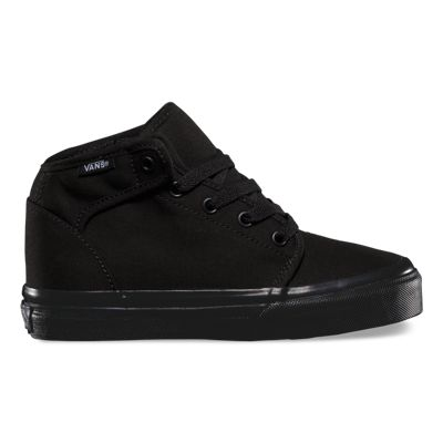 Vans Kids 106 Mid (black/black) Kids Shoes