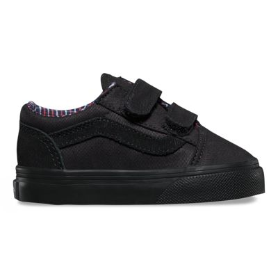 Vans Toddlers Cord & Plaid Old Skool V (black/black)