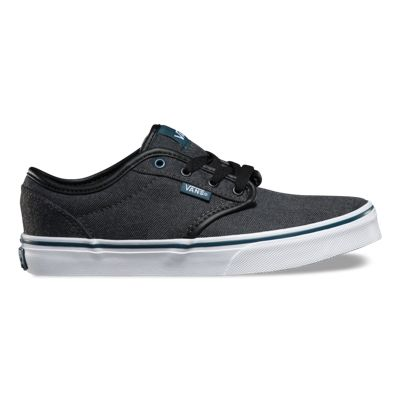 Vans Kids Atwood (Textile black/orion) Kids Shoes