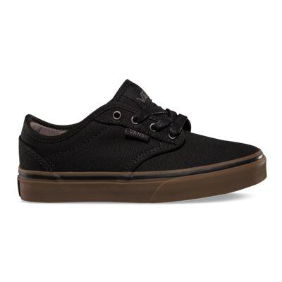Vans Shoes Kids Atwood (10oz Canvas/black/gum)–Vans-Cash Back