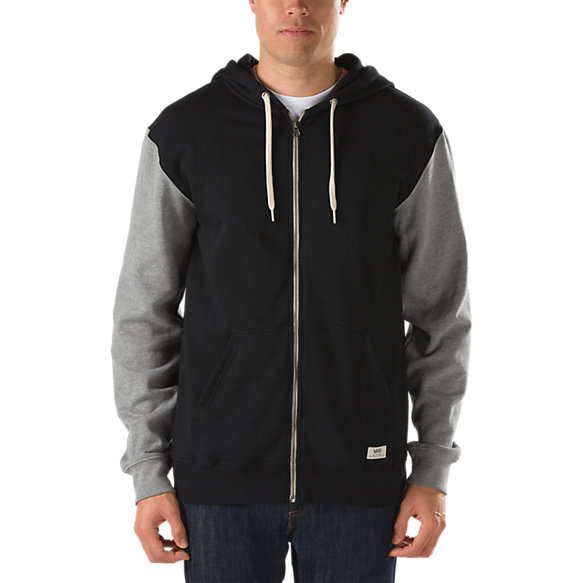 Core Basics Colorblock Zip Hoodie