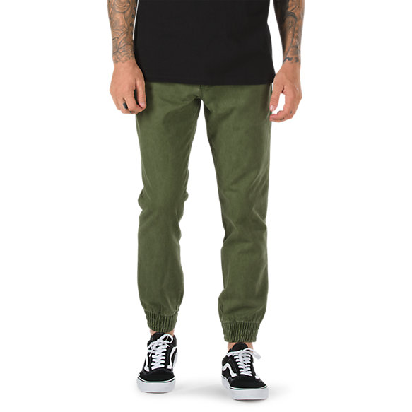 Brilliant Excerpt Chino Jogger  Shop Mens Pants At Vans