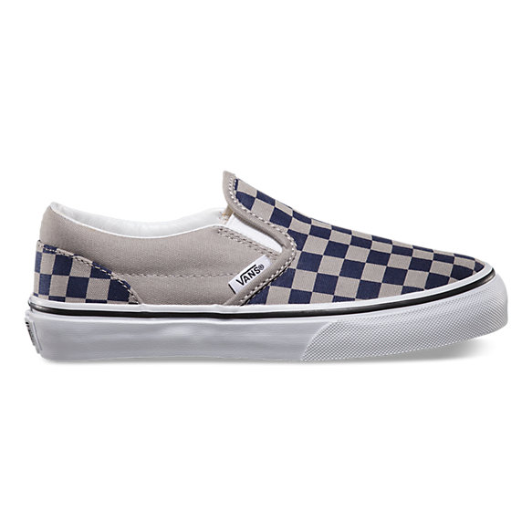 Kids Checkerboard Slip On