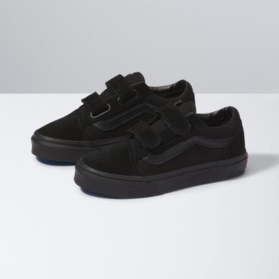 Vans Shoes Kids Old Skool V (blk/blk)