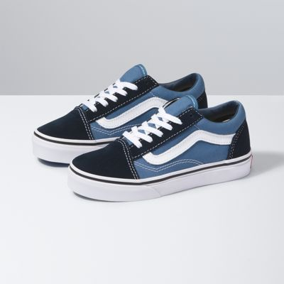 Vans Shoes Kids Old Skool (navy/true white)