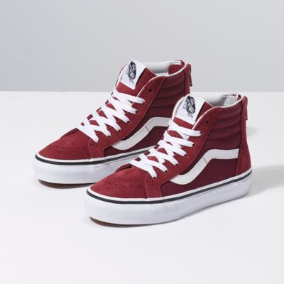 Vans Style Shoes For Little Girls