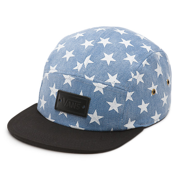 Willa Denim Stars Camper Hat
