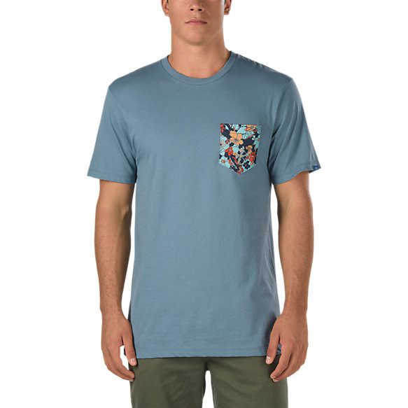 Pocket Print T Shirt Shop At Vans