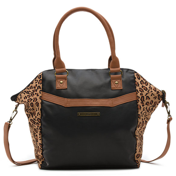 Hi-jinks Leopard Satchel Bag