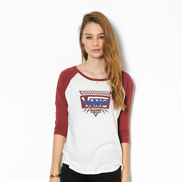 Road Burn Raglan Tee
