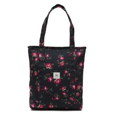 Vans Made For This Tote (Floral Black Black)