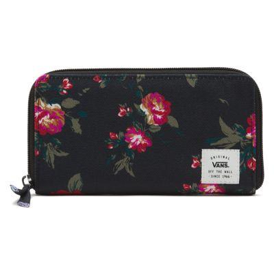 Vans Made For This Wallet (Floral Black Black)