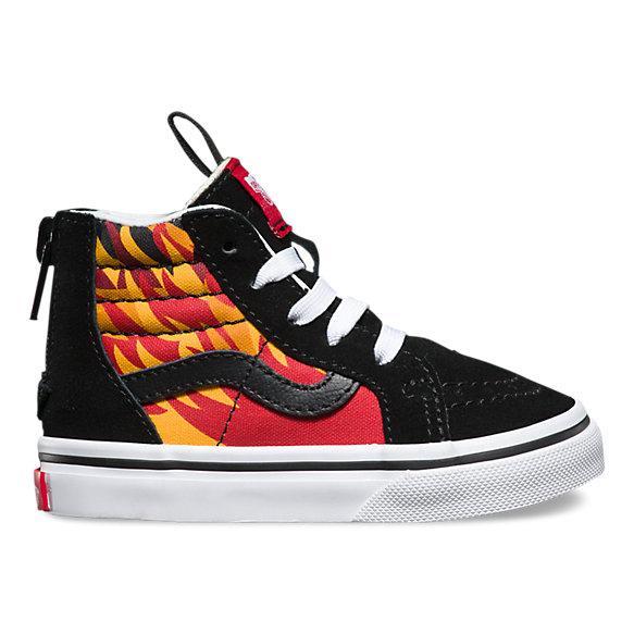 Men S Flame Shoes