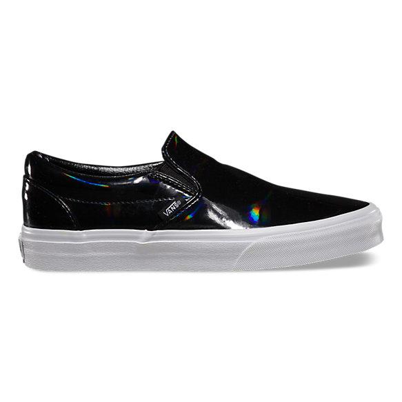patent leather slip on shop womens shoes at vans. Black Bedroom Furniture Sets. Home Design Ideas