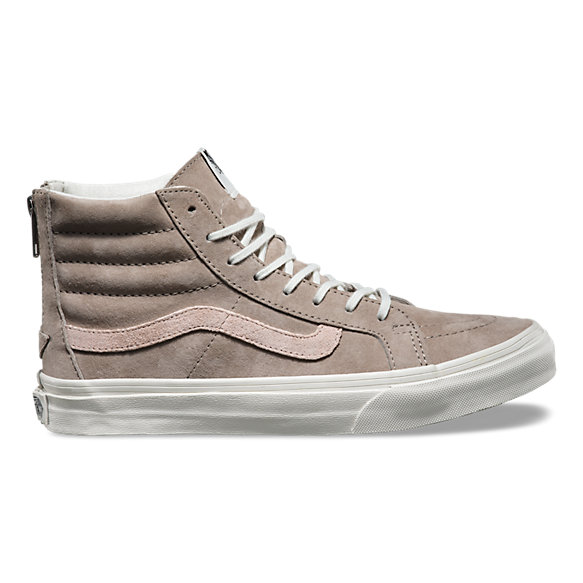 Croc Emboss SK8-Hi Slim Zip | Shop Womens Shoes At Vans