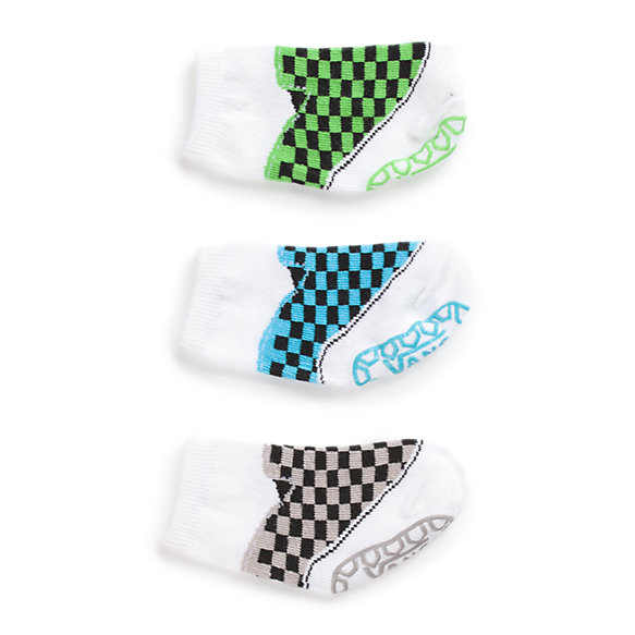 Infant Boys Classic Slip-On Sock 3 Pair Pack
