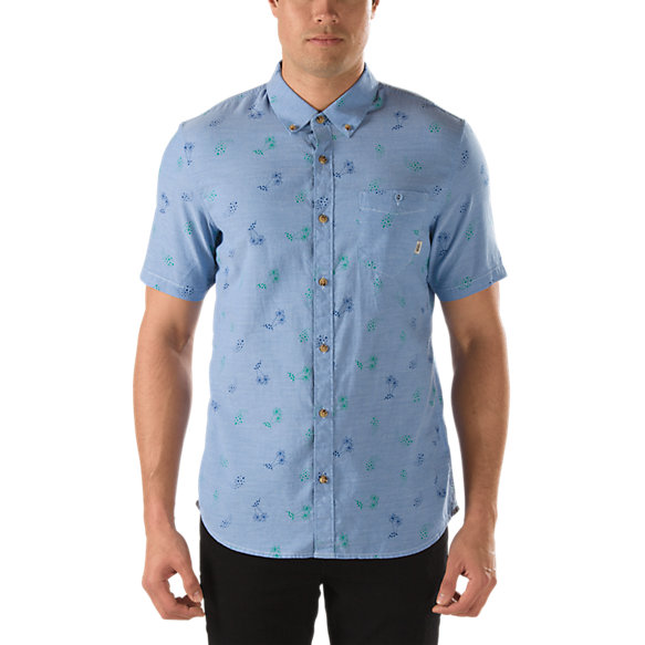 Baines Palm Paisley Buttondown Shirt