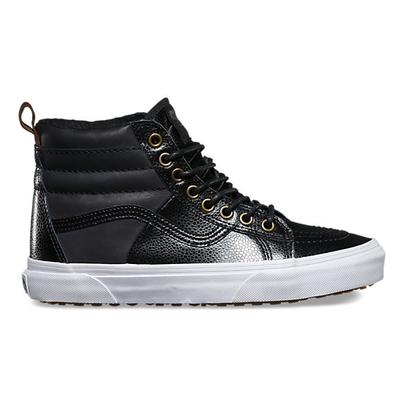 Pebble Leather SK8-Hi 46 MTE