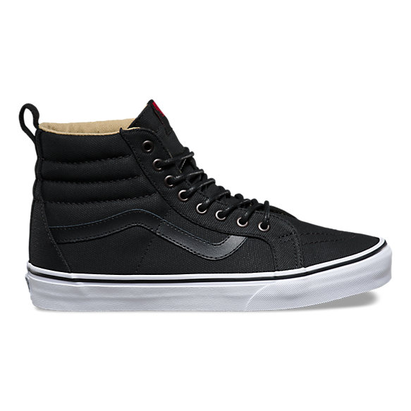 vans sk8 high tops dogs size 6