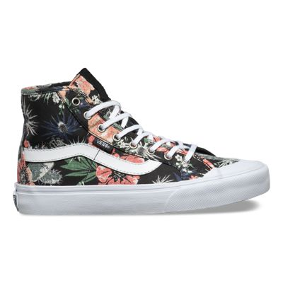 Vans Womens Black Ball Hi SF (Desert Floral black)