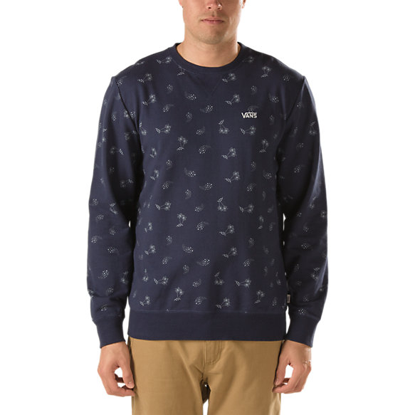 Ridgefield Palm Paisley Crew Fleece