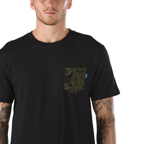 Printed pocket t shirt shop at vans for Pocket t shirt printing