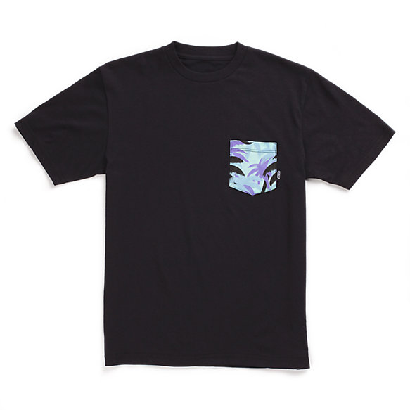 Boys Palm Camo Pocket Tee
